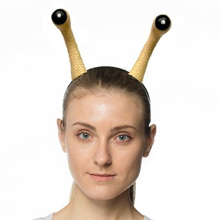 Supersoft Snail Adult Costume Headband - Halloweens Nails