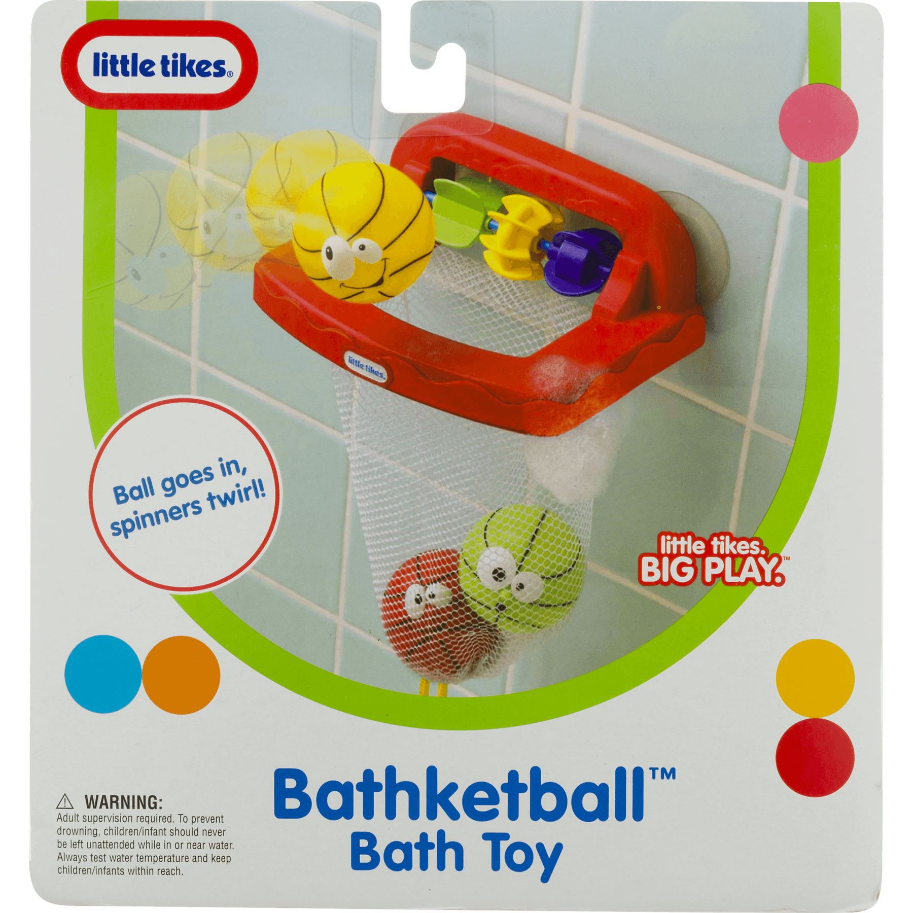 Little Tikes Bathketball BathToy 0+m, 1.0 CT - Walmart.com