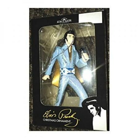 Elvis Presley Christmas Kurt Adler Ornament Blue - Elvis Suit