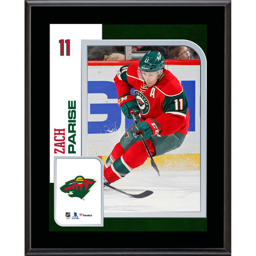 "Zach Parise Minnesota Wild 10.5"" x 13"" Sublimated Player Plaque - No Size"