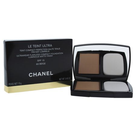 Le Teint Ultra Tenue Compact Foundation SPF 15 - 60 Beige by Chanel for Women - 0.45 oz