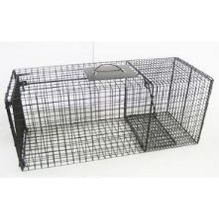 Bridger Live Cage Skunk, Rabbit, Small Raccoon Trap (27 x 9 x