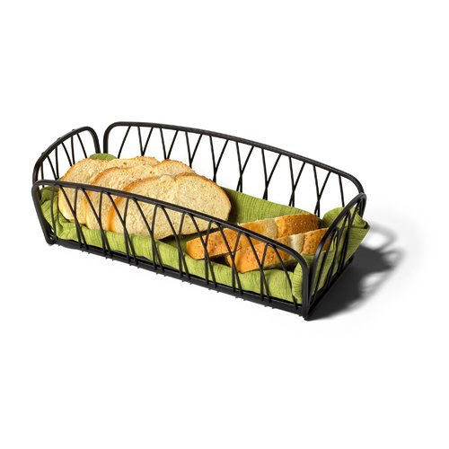 Alcott Hill Clearview Rectangle Bread Basket by