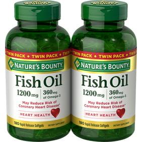 Nature S Bounty Fish Flax Borage 1200 Mg Omega 3 6 9 216 Count