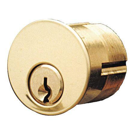 KABA ILCO 7165YA2-26D-KA2 Lockset Cylinder, Satin Chrome, Keyway Type Yale(R)