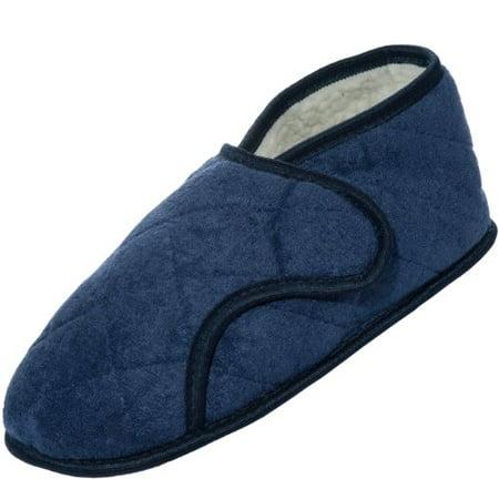 Personal Touch Men's Adjustable Slipper for Swollen