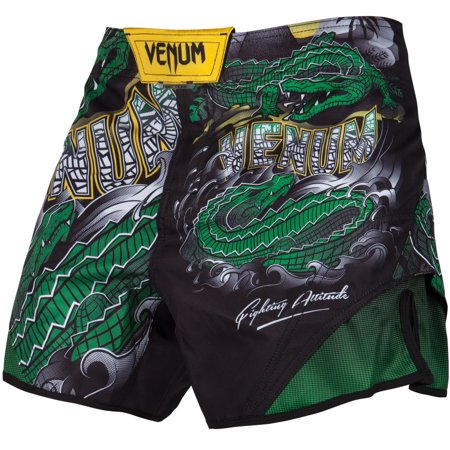 Venum Men's Crocodile Fight Shorts MMA -