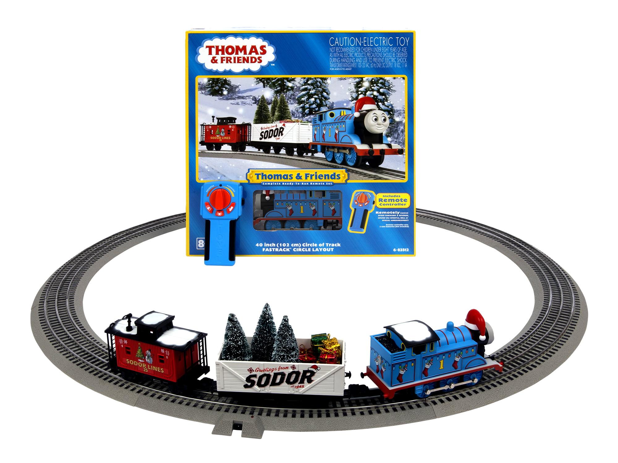 Thomas The Train Christmas Set.Lionel Trains Thomas Christmas Freight O Gauge Ready To Run Train Set