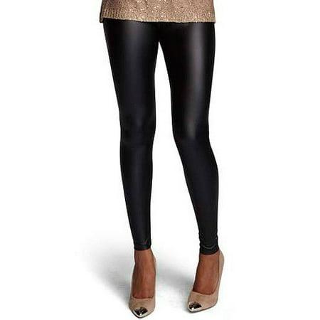 dc078a6d766c4 ONLINE - Stitch Women's Plus-Size Faux Leather Leggings - Walmart.com