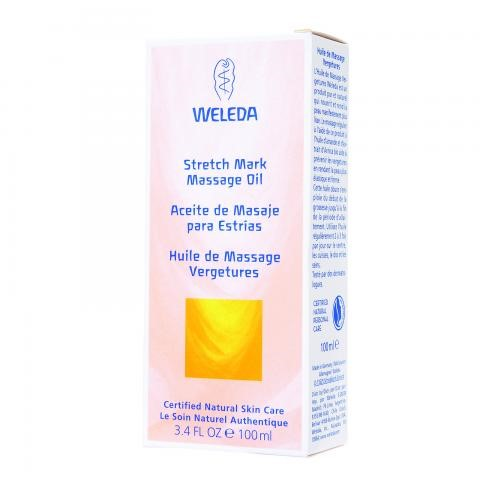Weleda Stretch Mark Massage Oil, 3.4 Oz