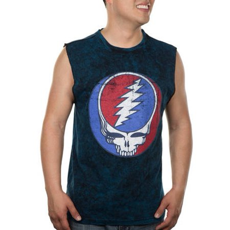 5f9b0f72 Grateful Dead - License Yer Face Mens Muscle Tee - Walmart.com