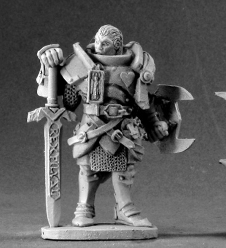 Marcus Gideon Undead Hunter Miniature 25mm Heroic Scale Dark Heaven Legends Reaper Miniatures