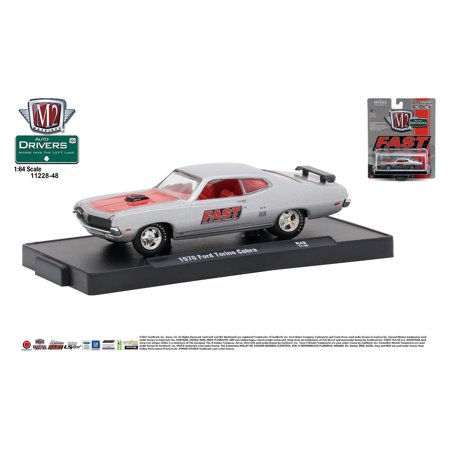 M2 Machines Auto-Drivers 1:64 R48 1970 Ford Torino GT 429 SCJ - (FAST) - Ford Probe Gt Engine