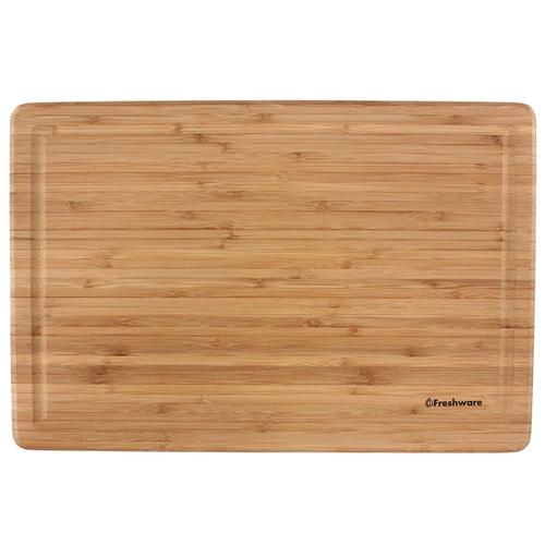 "Freshware Bamboo Cutting Board, Extra-Large, 12"" x 18\ by Freshware"