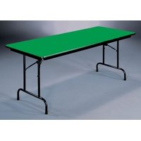 High Pressure Folding Table in Green (18 in. x 48 in./Green)