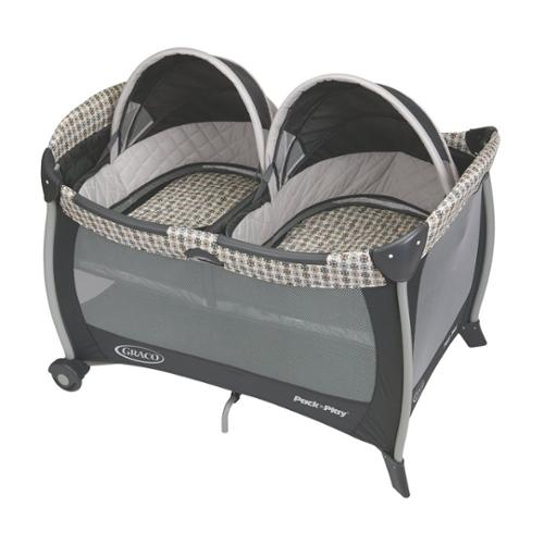Graco Pack 'n Play Playard With Twins Bassinet - Metal, Plastic (1812884)