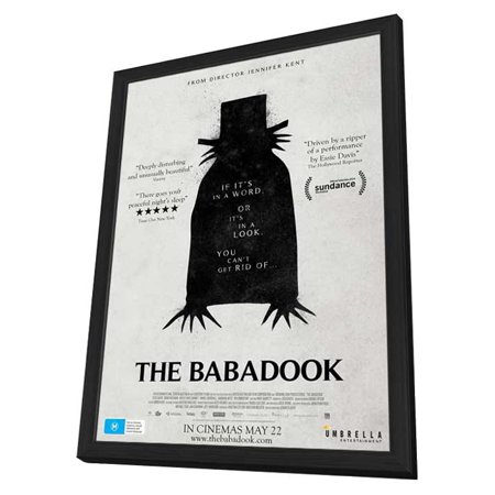 The Babadook  2014  27X40 Framed Movie Poster  Australian