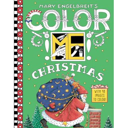 Mary Engelbreit's Color Me Christmas Coloring Book - Engelbreit Halloween