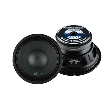 - Audiopipe APSP1050 10 Inch 700 Watt Dynamic Mid Range Car Audio Loudspeaker