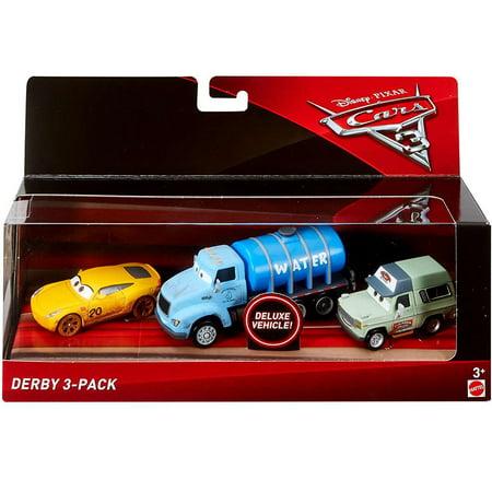 Disney Cars Cars 3 Cruz Ramirez Mr Drippy Roscoe Diecast Car 3