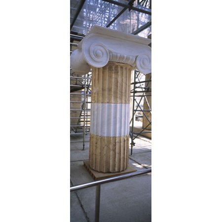 Plastic Greek Columns (Column in the Acropolis Athens Greece Poster)