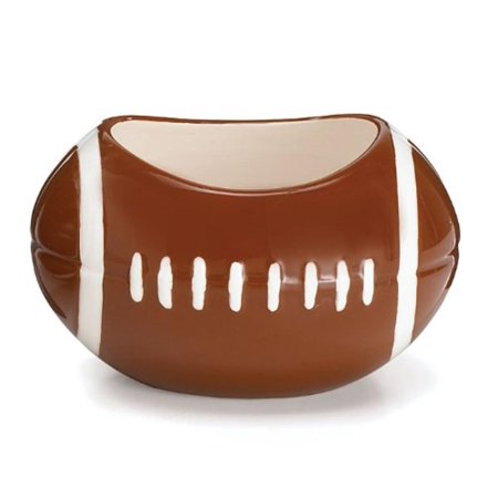 Football Planter/Candy Dish Great For Football Party or Sports Themed Events, Hand painted ceramic planter By Burton Burton](Football Themed Events)