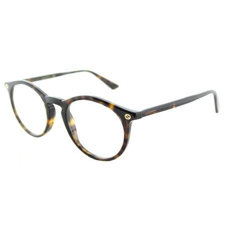 15164a9f01a Gucci GG 0121O 002 Unisex Round Eyeglasses - Walmart.com