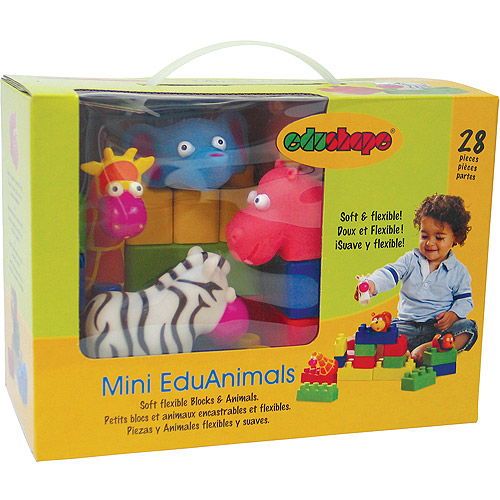 Edushape Mini EduAnimals, 28-Piece