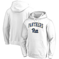 Pitt Panthers Fanatics Branded Campus Pullover Hoodie - White
