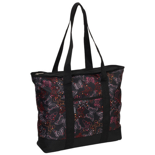 Everest Fashionable Butterfly Shopper Tote Bag