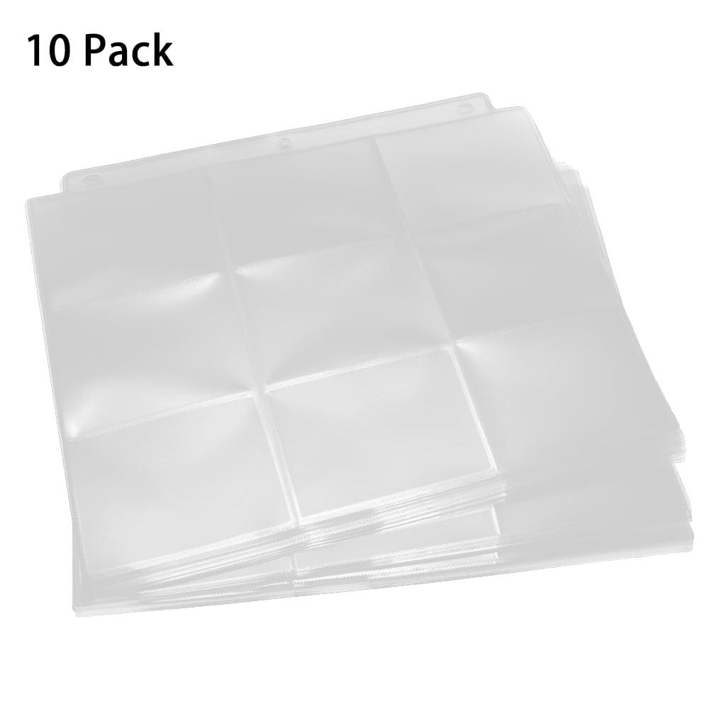 Sleeves Card Album 50 Game Card Sets Storage Wallet Transparent Game Card