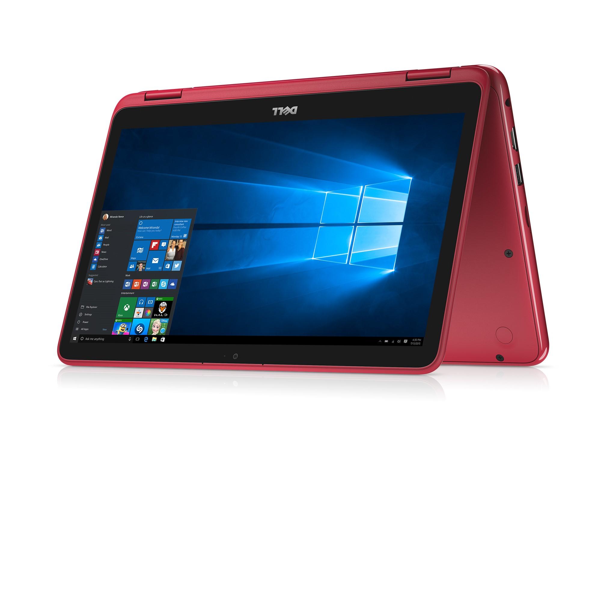 """Dell Inspiron 11 3000 11.6"""" HD 2-in-1 Laptop, AMD A6-9220e, 4GB 2400MHz DDR4, 32GB eMMC Storage, Windows 10 - Grey - I3185A760GRY"""