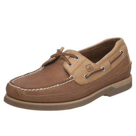 Mako Boat Shoes - Sperry Top-Sider Mako 2-Eye Mens Oak Boat Shoes
