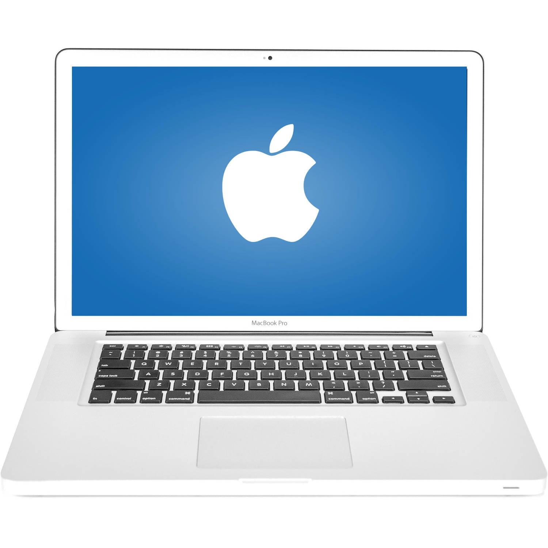 "Refurbished Apple Silver 15.5"" MacBook Pro A1286 WA5-1023 with Intel Core i7-2635QM Processor, 16GB Memory, 750GB Hard Drive and Mac OS X 10.10"