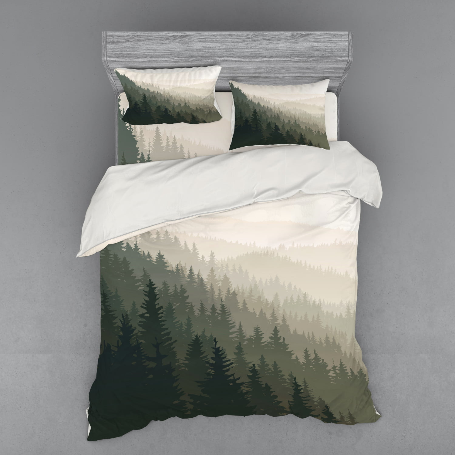 Forest Duvet Cover Set, Northern Parts Of The World