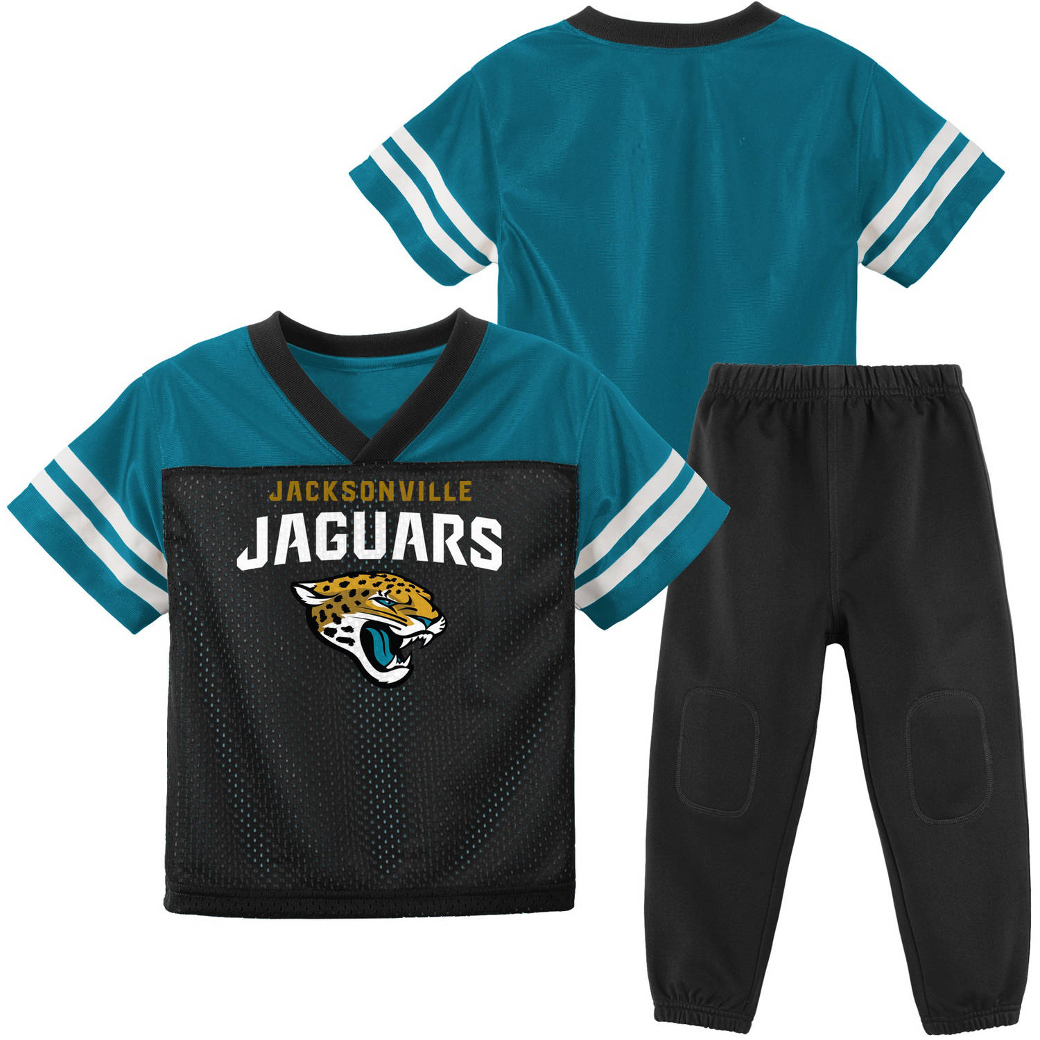 NFL Jacksonville Jaguars Toddler Short Sleeve Top and Pant Set