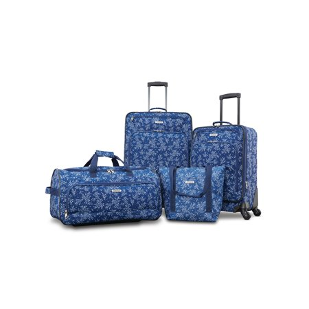 American Tourister Fieldbrook XLT 4 Piece Softside Luggage Set American Tourister Luggage Set