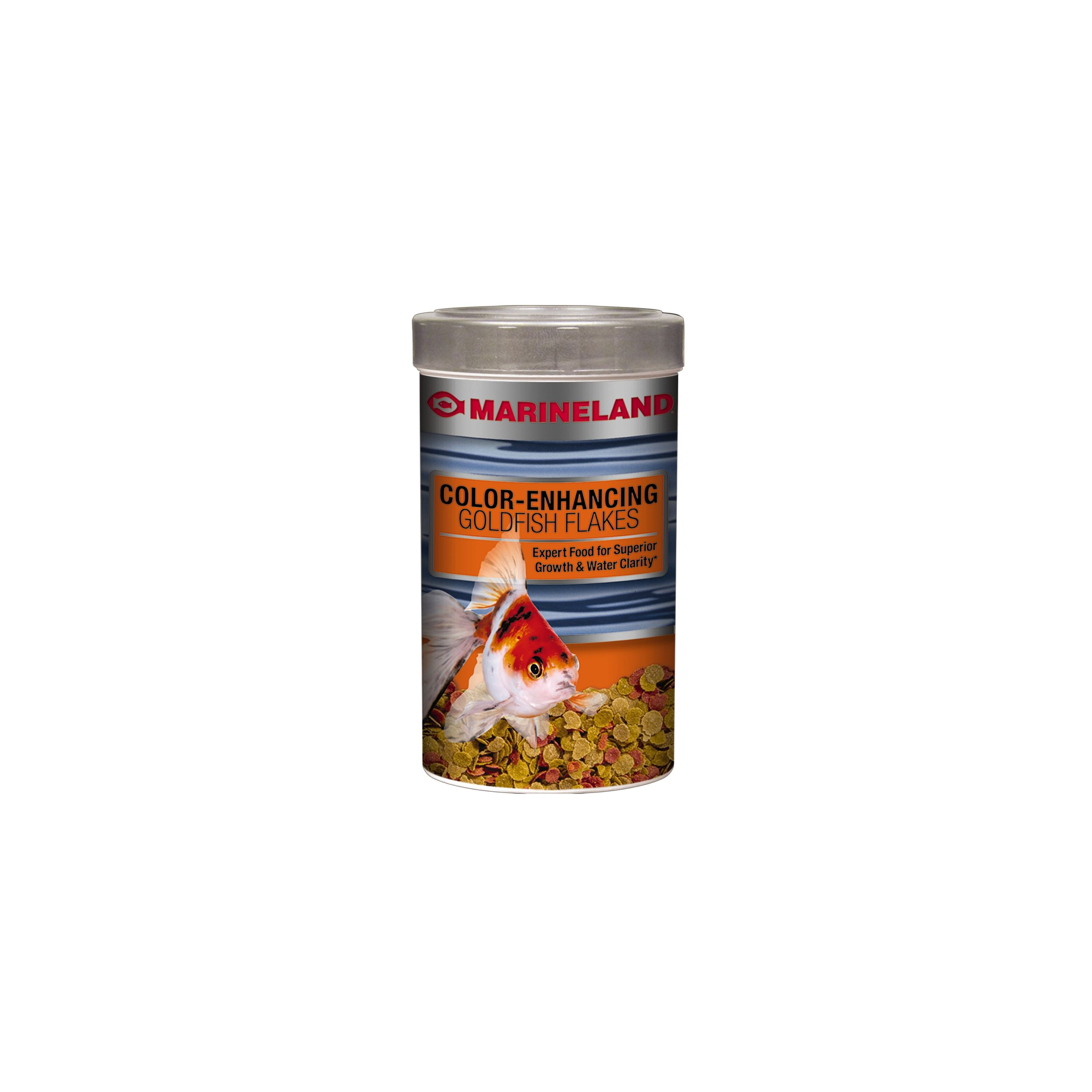 Marineland Color-Enhancing Goldfish Flakes, 9.88 oz by Spectrum Brands