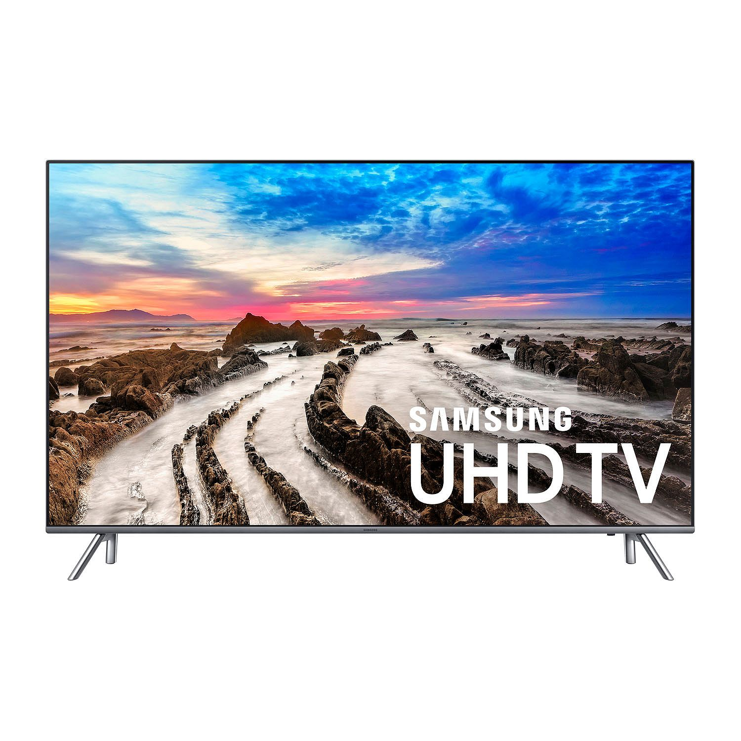 "Refurbished Samsung 75"" Class 4K (2160P) Smart LED TV (UN75MU800D)"