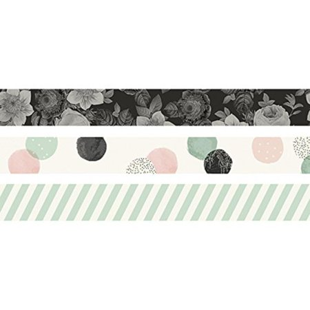10264 Beautiful Washi Tape, 4.0x1.5, Multi Color, Perfect for adding design and color to your Scrapbooking, planning, calendar, home décor or other art or.., By Carpe Diem - Calendars For Sale