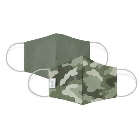Martex Reusable Reversible Face Mask, Olive Camo, S/M, 1-Pack