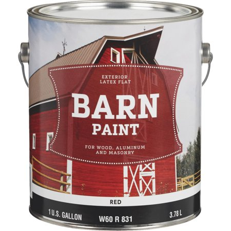 Do it Best Latex Flat Exterior Barn Paint