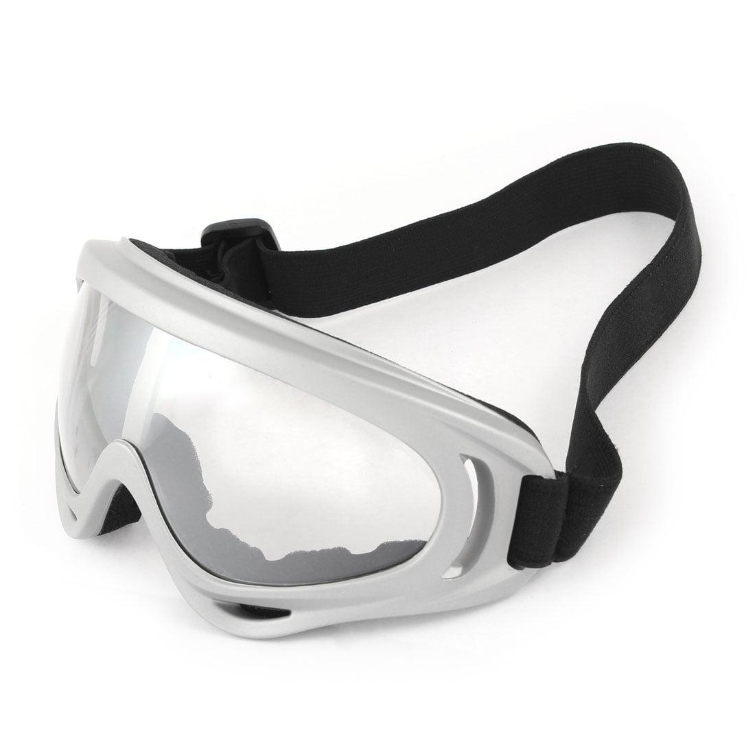 Unique Bargains Adjustable Strap Full Rim Skiing Snowboard Snow Goggles Sunglasses by Unique-Bargains