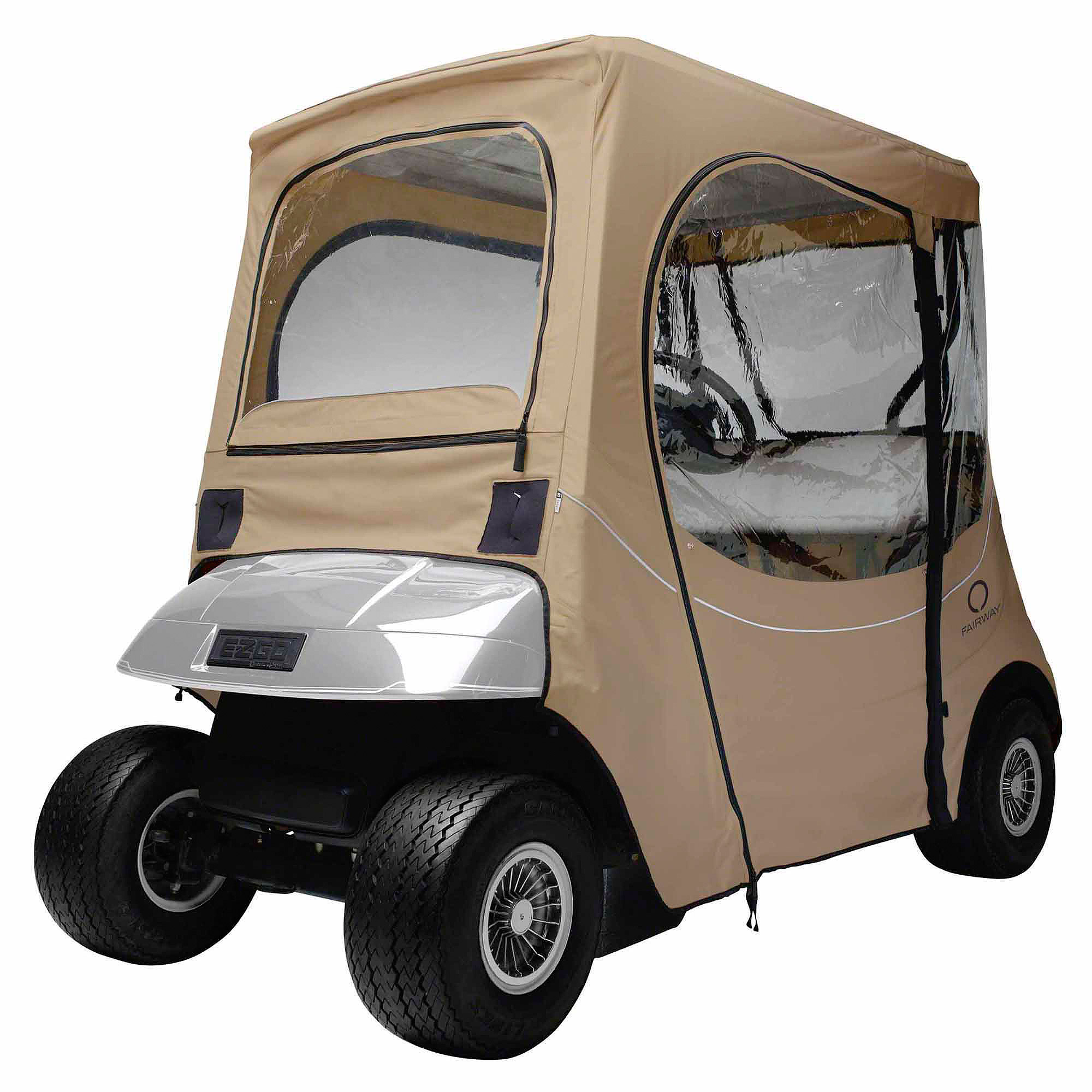 Classic Accessories Fairway E-Z-Go Golf Car Enclosure, Short Roof