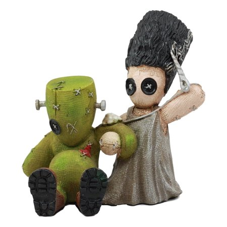 Ebros Day Of The Dead True Love Hurts Pinhead Monster Frankenstein Bride And Groom Couple Figurine Collectible Sculpture](Dead Bride And Groom)
