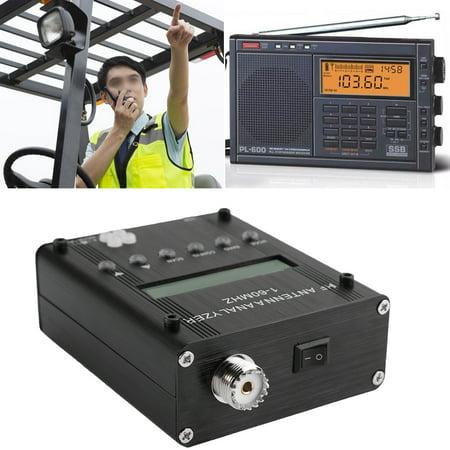 Shortwave Meter,Zerone MR300 Digital Shortwave Antenna Analyzer Meter Tester 1-60M For Ham Radio (Antenna Tester)