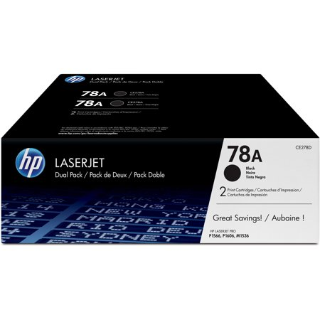 HP 78A (CE278D) Black Original LJ Toner Cartridges, 2 - Multi Pack Compatible Toner