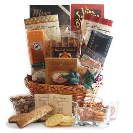 The Finer Things Tea Gift Basket (Things To Put In A Gift Basket)