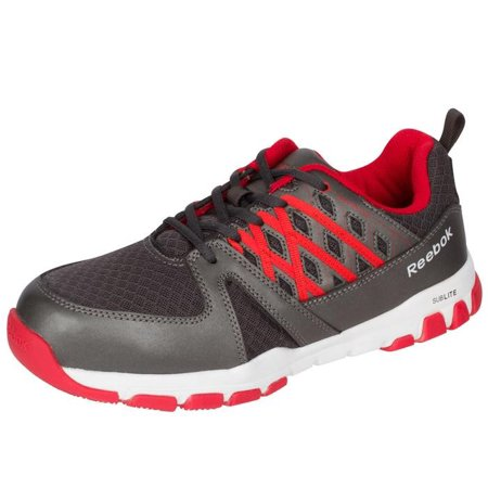 a9f9f537ccd Reebok - Reebok Work Men s Sublite Work RB4005 Steel Toe Sneaker -  Walmart.com