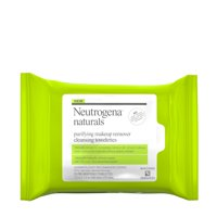 Neutrogena Naturals Purifying Makeup Remover Cleansing Wipes, 25 ct.